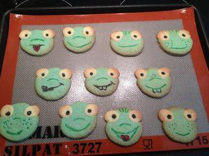 Biscuits Grenouille : la décoration !