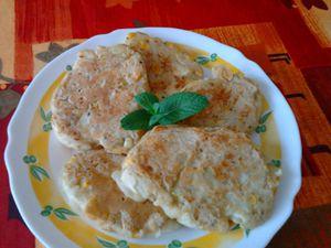 Pancakes légers aux légumes
