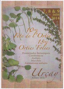 Orties Folies 2014