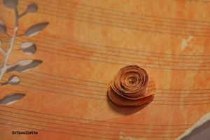 Rose en papier partition