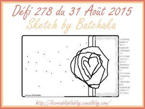 Défi#278 du Créablablablog/clic/sketch pour accès au défi
