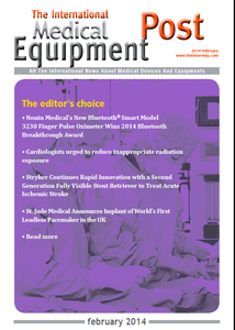 The International Medical Equipment Post February 2014 Editor's Choice