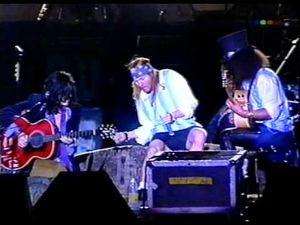 Guns N' Roses- Liv At Buenos Aires (17/07/1993), déjà 20 ans !