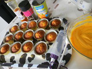 Cupcake Abricot