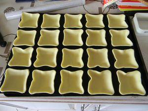Mini-Tartelettes aux Ravioles du Dauphiné