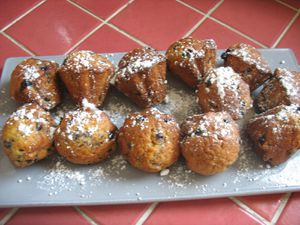 Muffin's myrtille