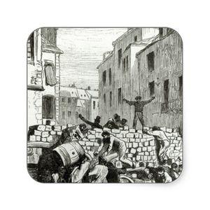 La barricade du cloître Saint-Merry, juin 1832