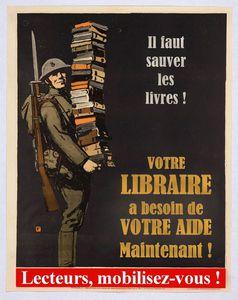 Campagne &quot&#x3B;Sauver les livres&quot&#x3B; (Librairie des Colonnes)