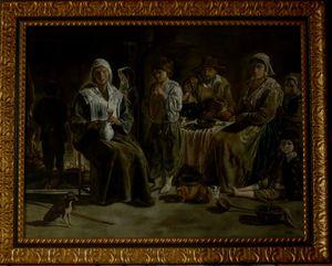 LES PAYSANS DU XVII siècle l'oeuvre de Louis Le Nain