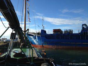 le bateau de charge du continent