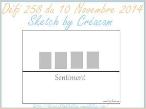 Défi 258 du Creablablablog