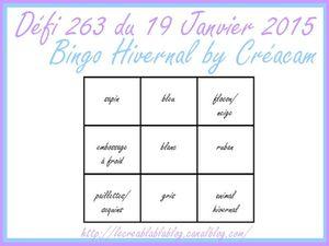 Challenge 263 du Creablablablog