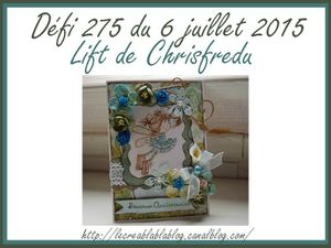 Défi 275 du Creablablablog