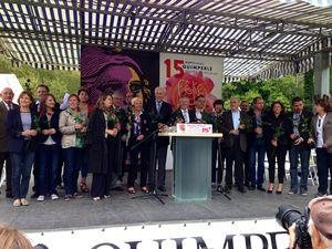 40 roses et une belle fête à Quimperlé
