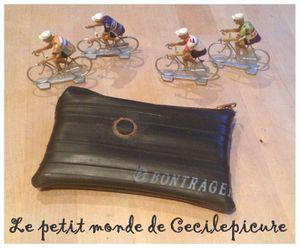 Porte-monnaie pour cycliste