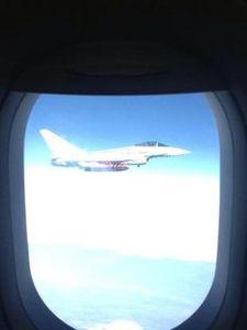 Volo Alitalia scortato da caccia tedeschi per venti minuti