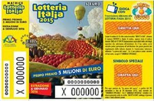 LOTTERIA ITALIA 2016 PREMI TERZA CATEGORIA