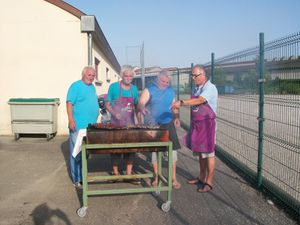Barbecue de l'amicale