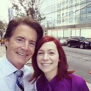 Sur le tournage de 'The Good Wife'