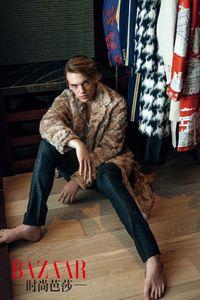 Jamie Campbell pour Bazaar