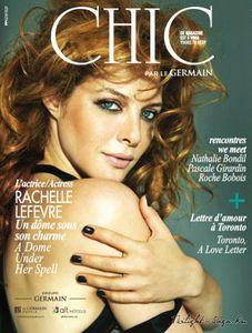 Rachelle Lefevre pour Chic Magazine.