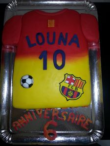 GATEAU FOOTBALL BARCA - BARCELONE