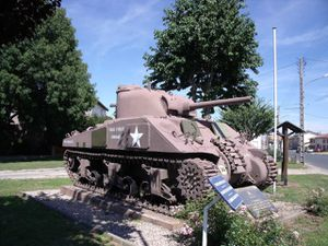 The tank battle of Arracourt in 1944