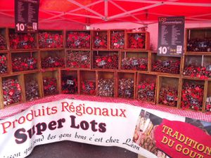 So many at the Foire Grasse in Lunéville