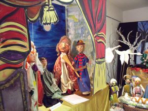 Amongst puppets in Saint-Nicolas-de-Port