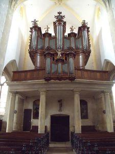 Saint Côme et Saint Damien church in Vézelise