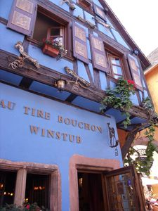 Riquewihr and wine
