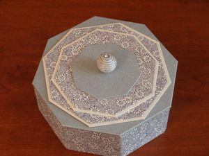 Bonbonnière octogonale