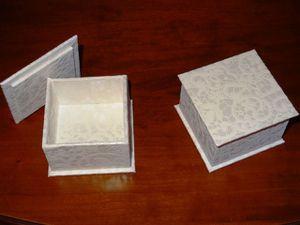 Boîtes de dragées
