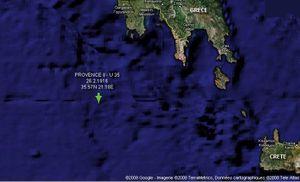 Il y a cent ans : le naufrage de la Provence II