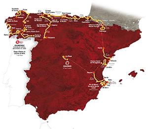 La Vuelta : résultats de la 4ème étape.