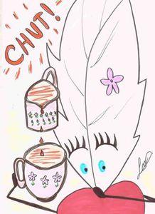 Le Café par Lily la Plume