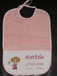 Bavette Princesse &quot&#x3B;Matilde&quot&#x3B;