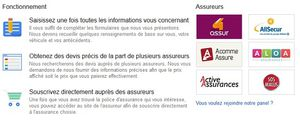 Google lance en France son comparateur d'assurances automobile.