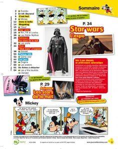 Numéro spécial Star Wars du Journal de Mickey