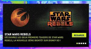 Star Wars Rebels annoncé pas Disney XD france