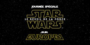 Journée Star Wars sur Europe1 lundi 19 octobre!