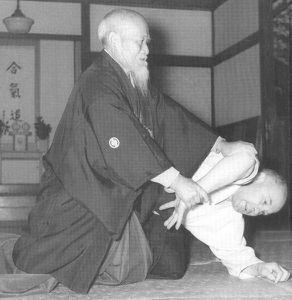 Mon travail sur la saisie en aikido