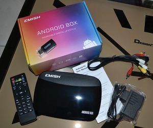 Console BOX ANDROID VICTSING EMISH X700, la console pour toute la famille !