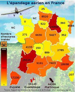 Epandage aérien de pesticides : des riverains enfin reconnus comme « victimes »