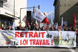 Loi travail : journée d'action mardi 5 juillet en Isère