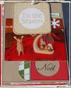 Mini album Noël chemise
