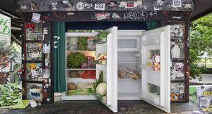 A Berlin, des frigos en libre-service pour lutter contre le gaspillage alimentaire.