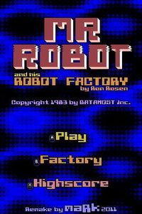 3DS Homebrew Game Mr Robot And His Robot Factory