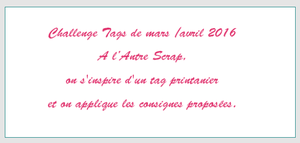 Challenge Tag#49 L'Antre Scrap