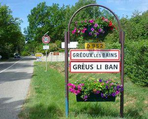 Autour des villages provençaux